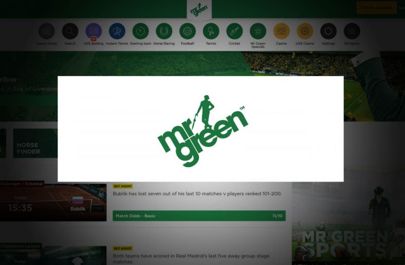 Mr Green Sportsbook Free Bet & Review