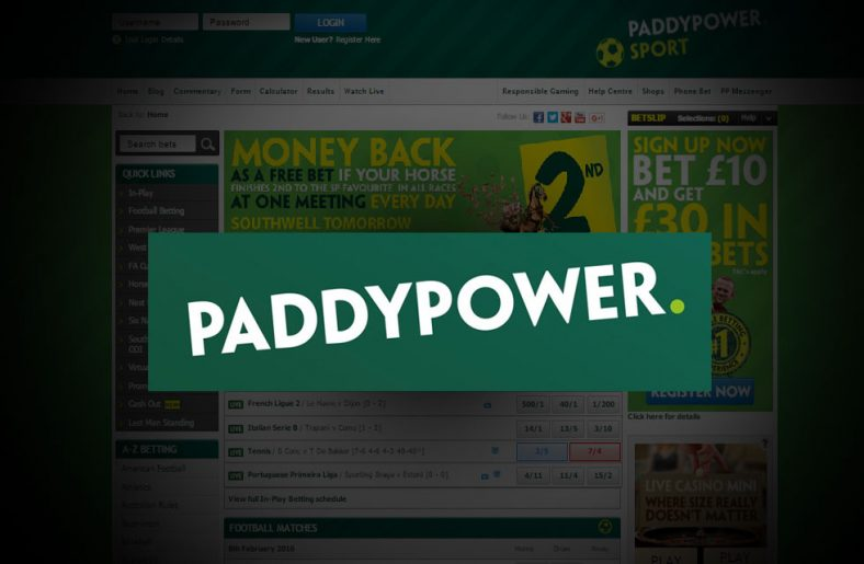 Paddy Power Sportsbook Free Bet & Review