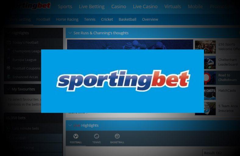 Sportingbet Sportsbook Free Bet & Review