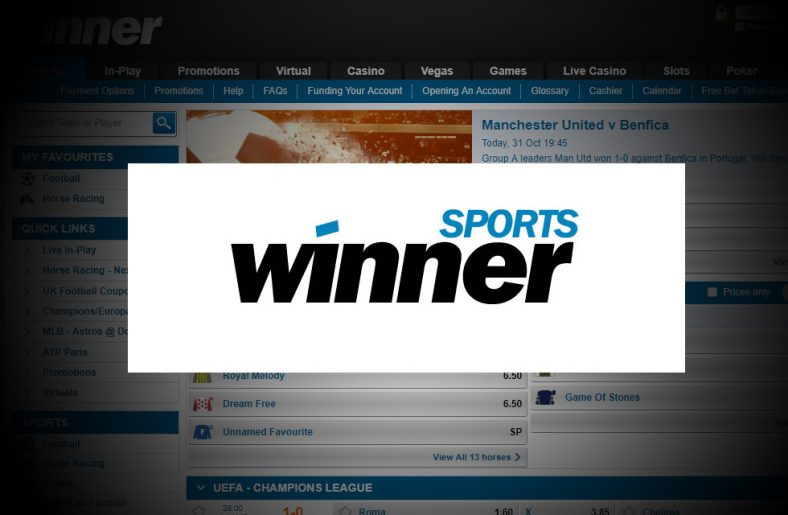 Winner Sportsbook Free Bet & Review