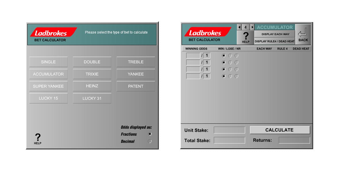 Ladbrokes betting calculator money are bitcoins worth money