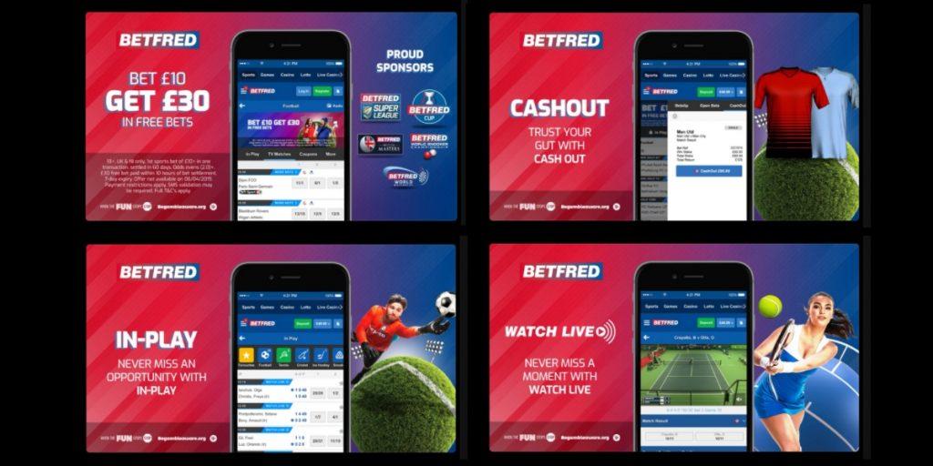 Betfred betting app