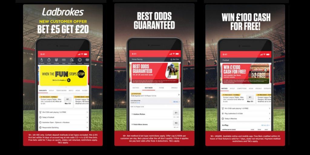 Ladbrokes betting app