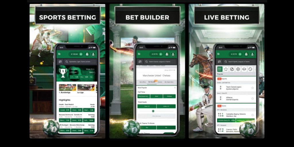 Mr Green betting app