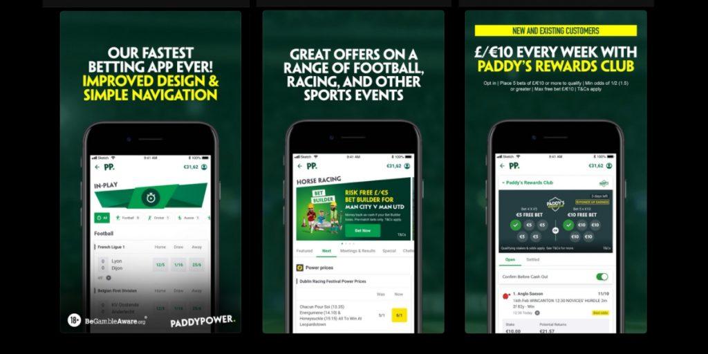 Paddy Power betting app