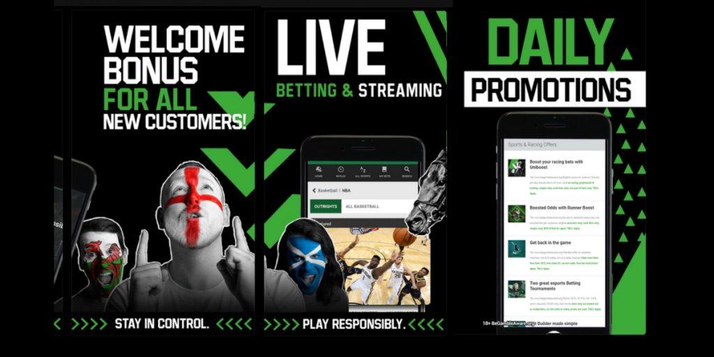 Unibet betting app